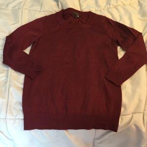 J. Crew Sweaters - Maroon j crew sweater